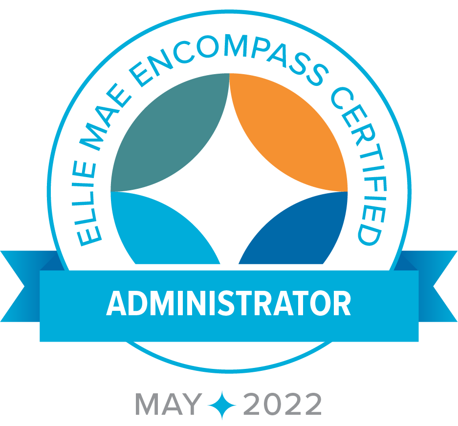 Ellie Mae Encompass Certified - Administrator - May2022